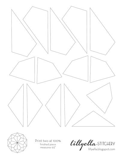 EPP Table Topper Pattern