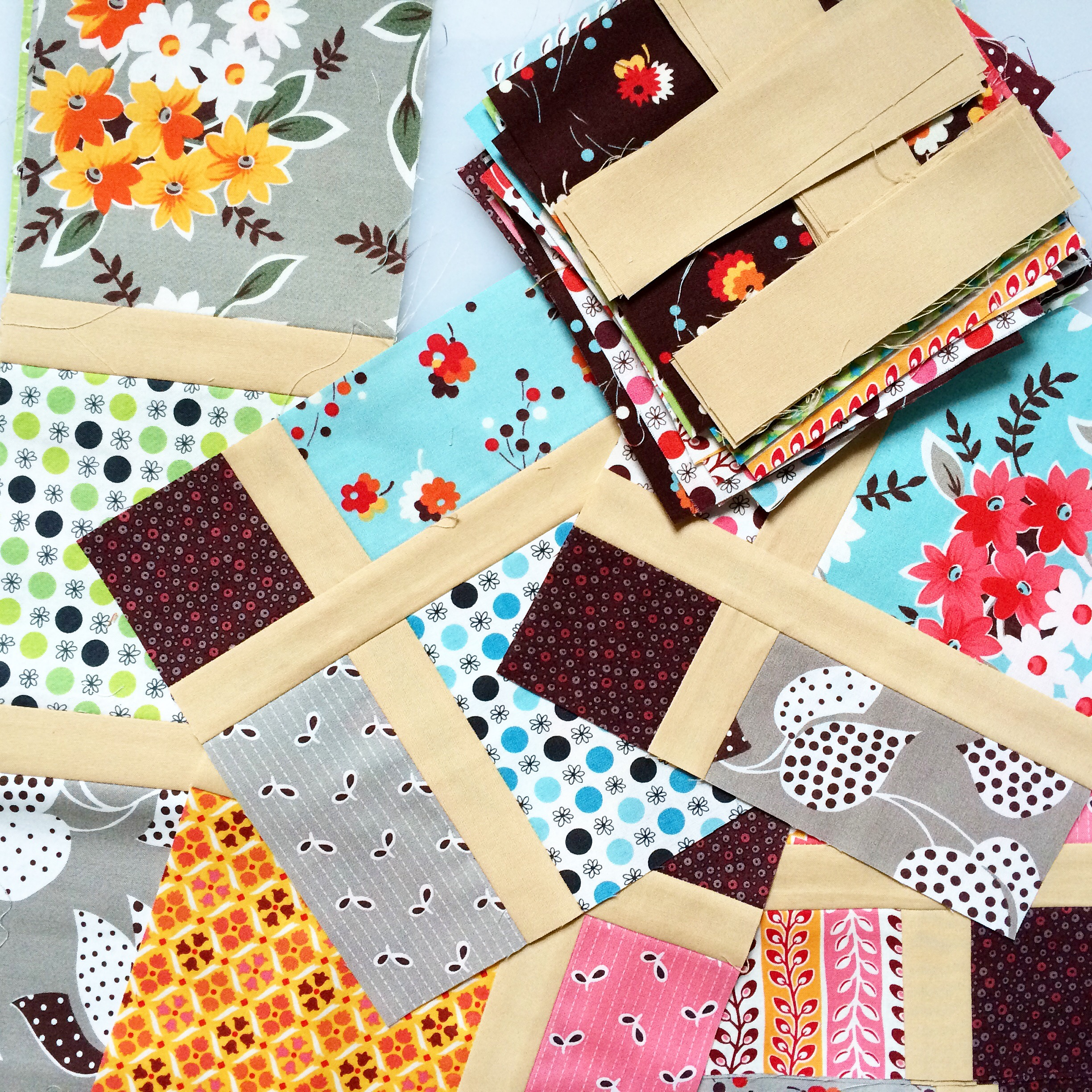 Quilting Designs Sashing : Disappearing nine-patch with sashing: a quick tutorial lillyella