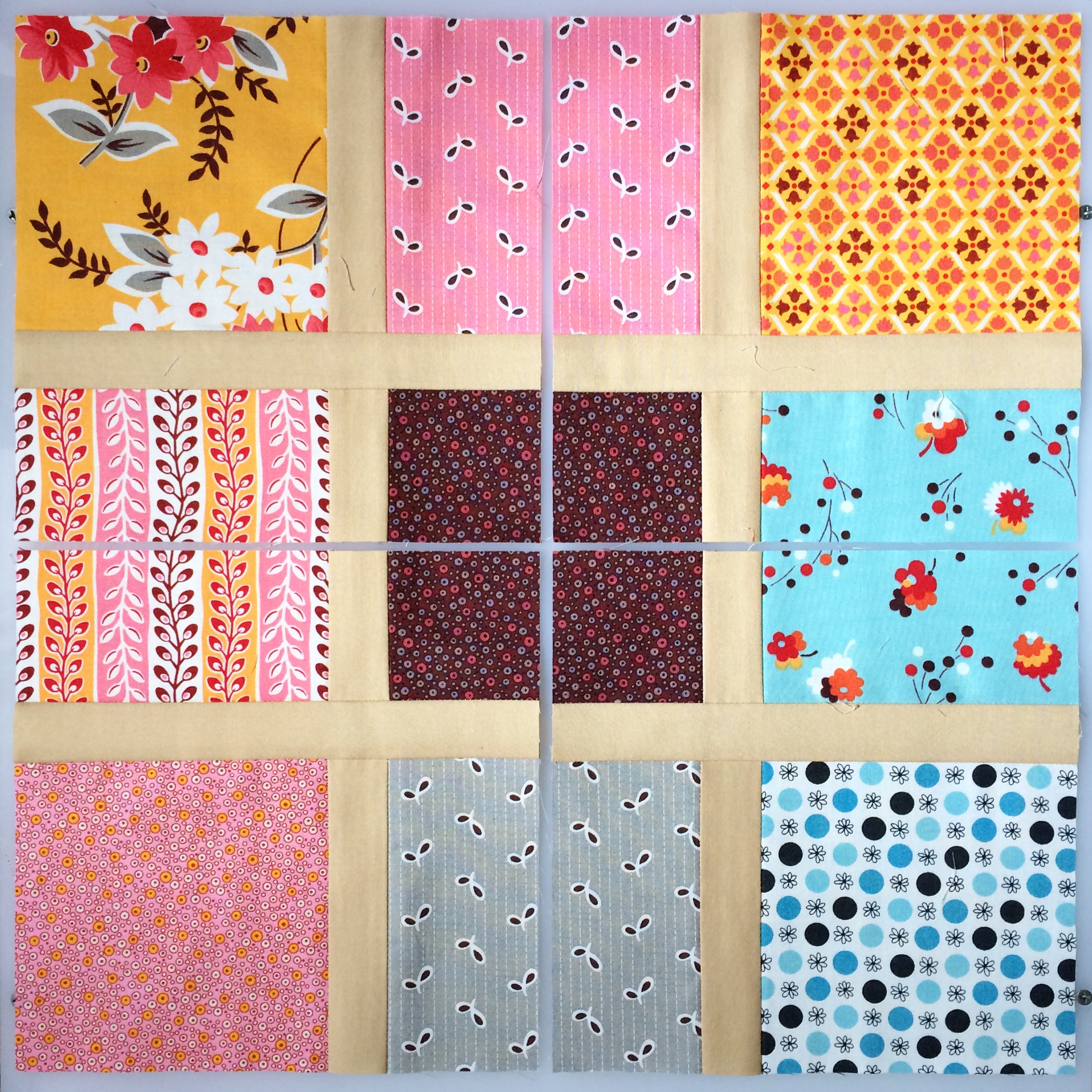 Disappearing Nine Patch Pattern Magnificent Ideas