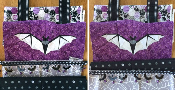 Midnight Bite Treat Bag Tutorial | lillyella stitchery