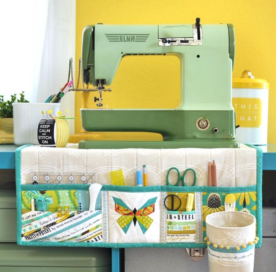 Undercover Maker Mat free pattern | lillyella stitchery