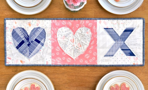 Love Story + Cross my Heart Pattern | lillyella stitchery
