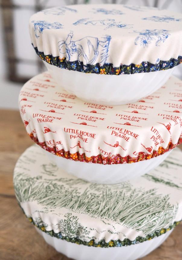 Reusable Bowl Cap Tutorial   lillyella stitchery