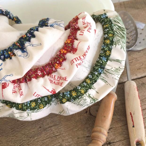 Reusable Bowl Cap Tutorial | lillyella stitchery