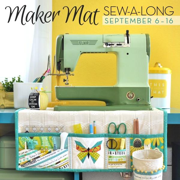 Undercover Maker Mat Sew-a-long | lillyella stitchery