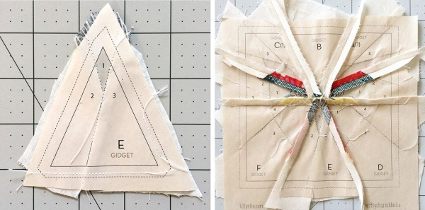 paper piecing tips | lillyella stitchery