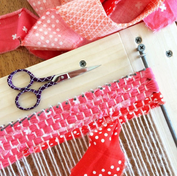 rip strip weaving | lillyella stitchery
